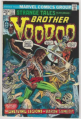 Strange Tales #171 Featuring Brother Voo Doo, Fine Condition.