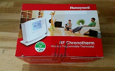 Honeywell Cmt927 Rf Chronotherm  Wireless Programmable  Thermostat