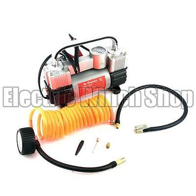 Warrior Power Products 12v Portable Mini Tyre Inflator Air Compressor