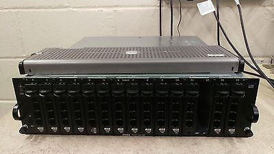 Dell PowerVault MD1000 SAS/SATA Storage Array DAS 13x 300GB 10K 2x 300GB 15K SAS