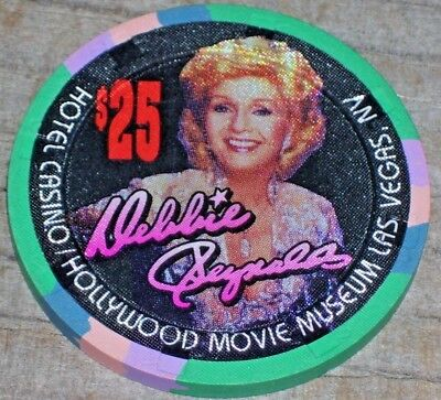 $25 Vintage Gaming Chip From Debbie Reynolds Casino Las Vegas