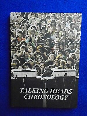 ~~ Talking Heads Chronology ~ Book & Dvd Hardcover ~ 2011 ~ New! ~~