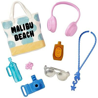 "NEW! Barbie Accessory Pack - ""Beach Days"""