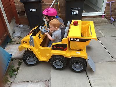 12volt Electric Child's Ride On Digger