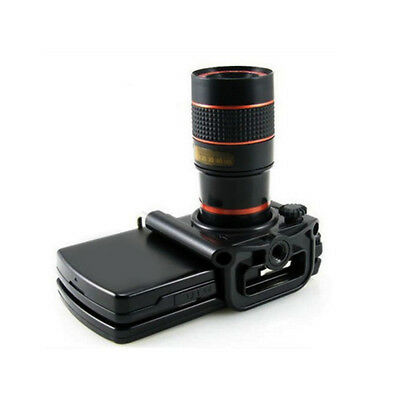 Universal 8X Camera Lens Zoom Phone Clip-On Telescope Telephoto for Cell Phone