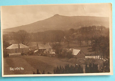 RP Postcard c.1920 GENERAL VIEW NEVERN PEMBROKESHIRE WALES
