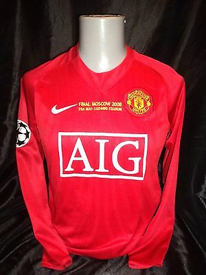 Manchester United home shirt 2008 champions league final long sleeved GIGGS 11