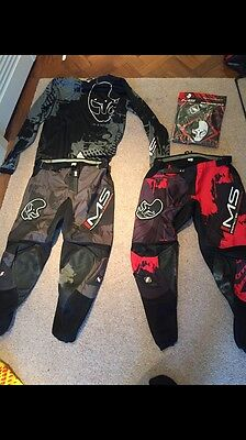 Ims Motocross Gear Pants And Jersey 32 M Thor Fox