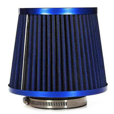 Universal Car Air Filter Vehicle Induction Kit High Power Mesh Blue SEort SE