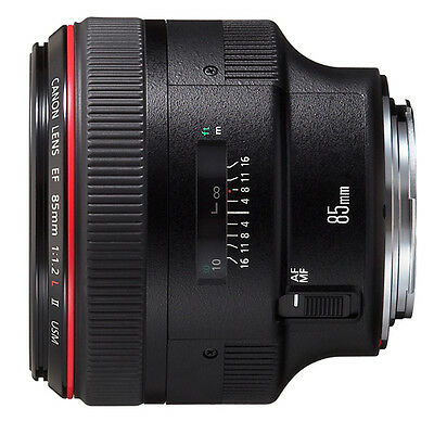 CANON EF 85mm f/1.2L II USM Camera Lens
