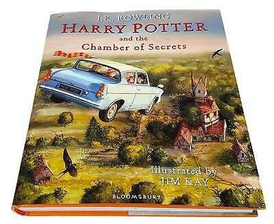Harry Potter And The Chamber Of Secrets - Illustrated Hardback by J.K. Rowling