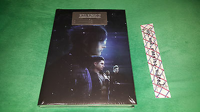 FINAL FANTASY XV 15 COLLECTORS EDITION STRATEGY GAME GUIDE w/ DUST COVER JACKET