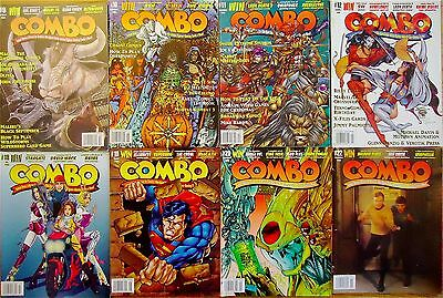 8 Vintage Issues of COMBO Oct 1995-Nov 1996  VG Best Offer Free Shipping