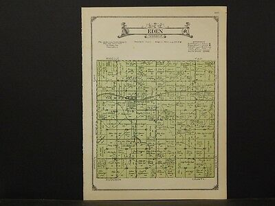 Iowa, Carroll County Map, 1923, Township of Eden, K2#67