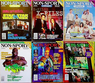NON-SPORT UPDATE-All 6 1996 Issues+Pop-Out Price Guides VG BestOfferFreeShipping