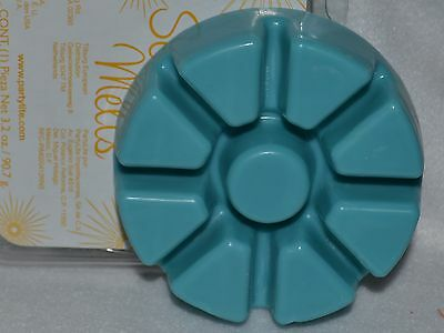PARTYLITE TROPICAL WATERS wax scented melts tray SCENTS PLUS line