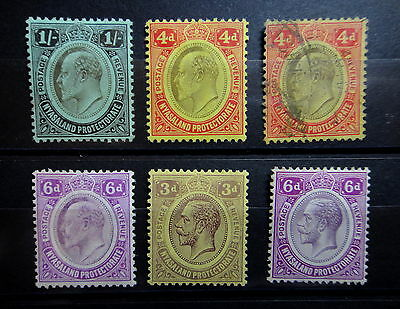NYASALAND 1908-1921 Stamps Lot - Used / Mint MH  - r26b1665