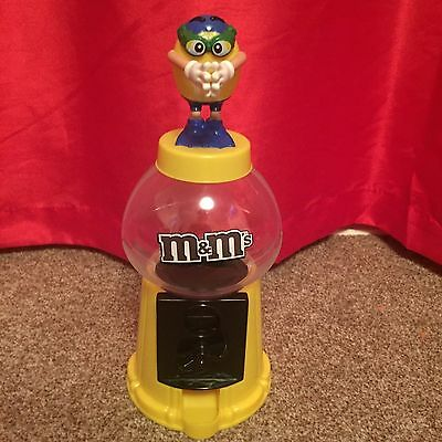 Collectable M & M Sweet Dispenser Yellow