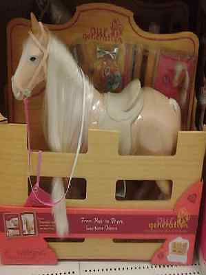 Our Generation Lusitano Horse & accessories. - NIB-Hard to find.