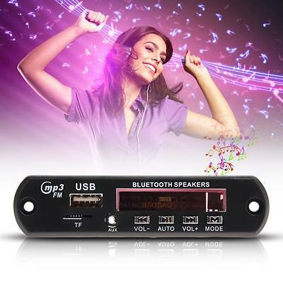 Bluetooth MP3 Player Decoder Board SD/USB/AUX/FM Stereo with Remote Control New