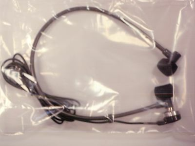 Dictaphone DH50DP Transcription Headset with 2 prong Dictaphone type connector