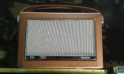 Bush Rank TR130 Brown - Beige Radio Case / Carcass.