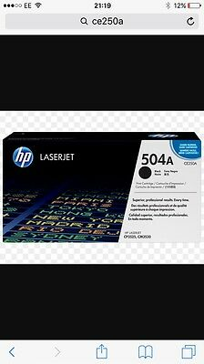 Brand New Original HP CE250A Black Toner