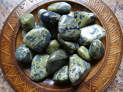 NEPHRITE JADE 1/4 Lb Gemstone Specimens Tumbled Wiccan Pagan Metaphysical