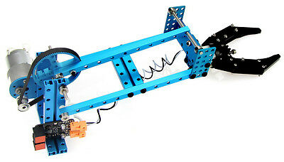 Robotic Arm Add-on for Makeblock Starter Kit - Blue