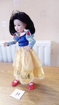 Doll Zapf 12/14 Inch Snow White Jointed Doll Vgc (Lot H) Cpics!