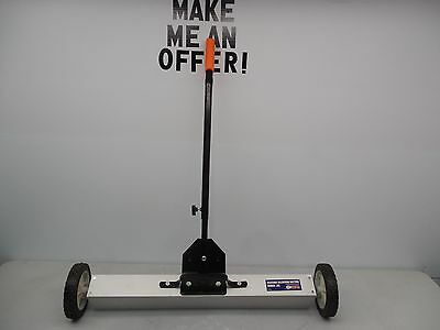 """Grip-On 30"""" Telescopic Rolling Magnetic Magnet Sweep Sweeper"""