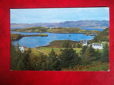 Old Postcard Of Badachro Bay Wester Ross