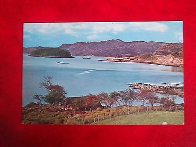 Old Postcard Of Loch Shiedaig Ross & Cromarty