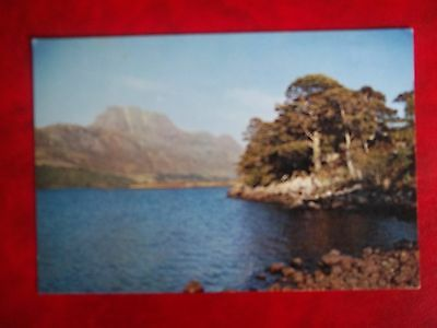 Old Postcard Of Loch Maree Wester Ross