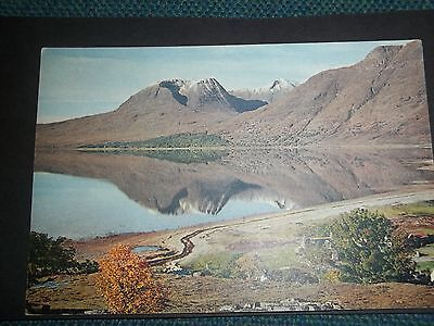 Beinn Allgin And Loch Torridon Wester Ross Old Postcard