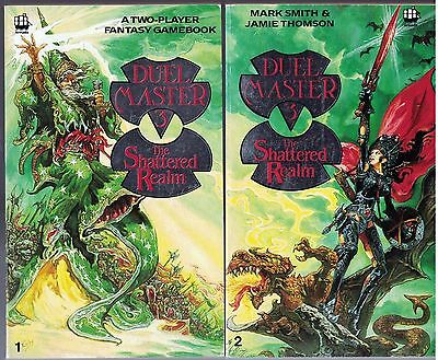 Duel Master 3 The Shattered Realm (2 Book/Player) Fighting Fantasy Style