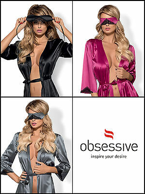OBSESSIVE Satinia Luxury Super Soft Satin Eye Mask - Available in 3 Colours