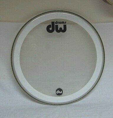 "DW Drum Workshop Clear / Coated 22"" Bass Drum Head"
