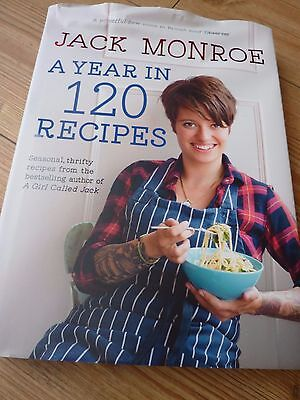 Jack Monroe A Year in 120 Recipes Hardback Cook Book New Seasonal Thrifty