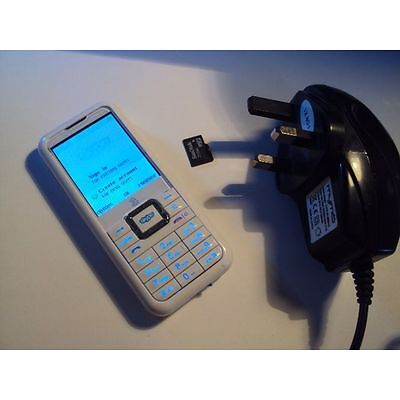 Amoi Wp-S1 Skype Mobile Phone 3G Locked To 3 Mobile+Memory Card +Charger