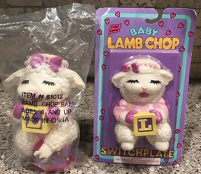 Light Switch Plate Cover Bank Shari Lewis Baby Lamb Chop Nursery Child's Room