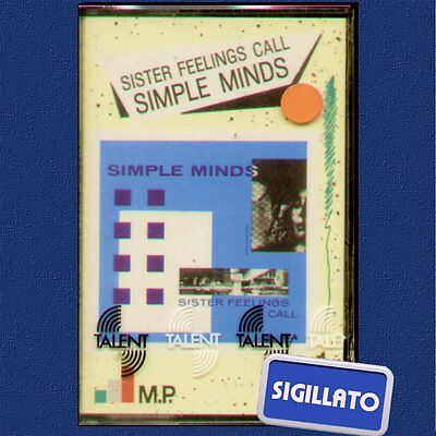 "Simple Minds "" Sister Feelings Call "" Musicassetta Sigillata Mc K7"