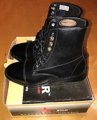 NEW Equistar Lace Paddock Boots- Ladies Size 5.5