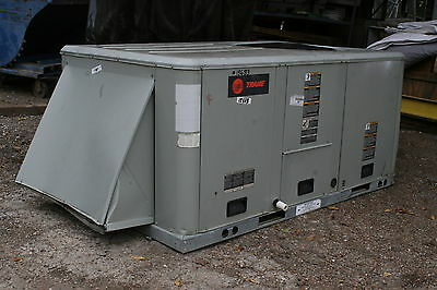 Trane 4 Ton Packaged Rooftop Unit RTU Air Conditioner (TSC048A4E0A27) 3 PH 460V