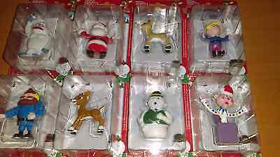Rudolph the red nose reindeer figures