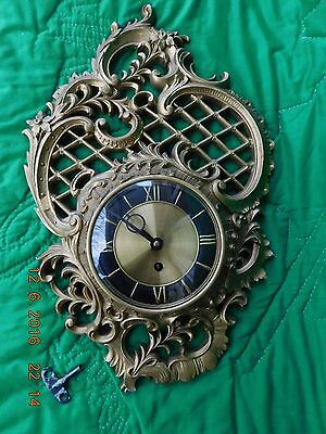 Vintage German Made 8 Day Wall Clock