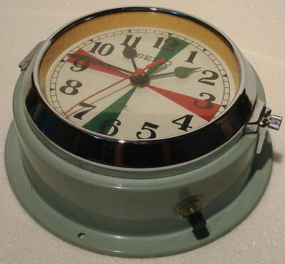 SEIKO Marine RADIO-ROOM Slave Clock - MC 147 - JAPAN - SHIP'S 100% ORIGINAL(B)