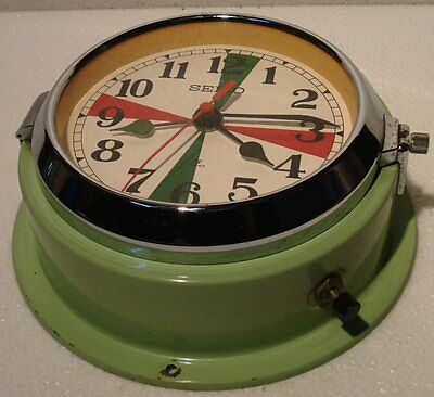 SEIKO Marine RADIO-ROOM Slave Clock - MC 147 - JAPAN - SHIP'S 100% ORIGINAL(C)