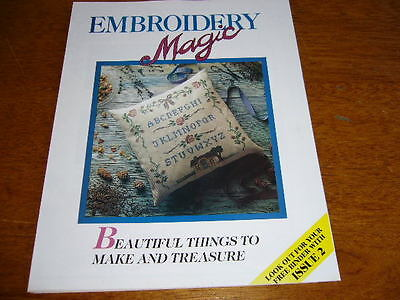 Embroidery Magic Creative Fabbri Publication Pack 1 With Iron On Patterns