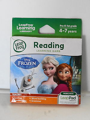 Leapfrog Learning Library Reading Learning Game Disney FROZEN NEW